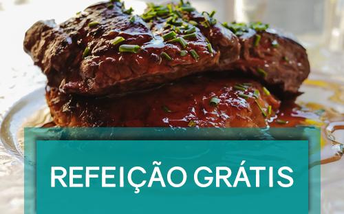 Refeição Grátis - Conheça o melhor da gastronomia do Motel Golf e surpreenda-se!